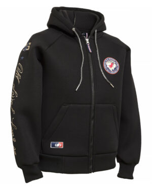 UNISEX HOODED THERMO JACKET _The Legend Lives On_ navy_royal 193401 - OS-WESTERN SPORTS APPAREL.lovelybull-westernstore-westernshop.onlineshop-westernreiten-
