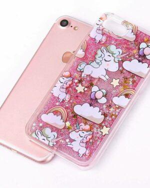 lovelybull_handycover_pink_glitzer_unicorn_einhorn
