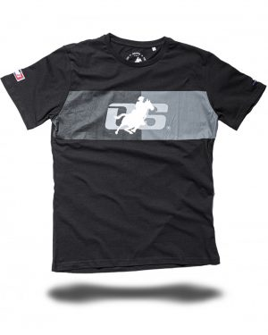 MENS T-SHIRT _LABEL #1_ black - OS-WESTERN SPORTS APPAREL_lovelybull-westernstore